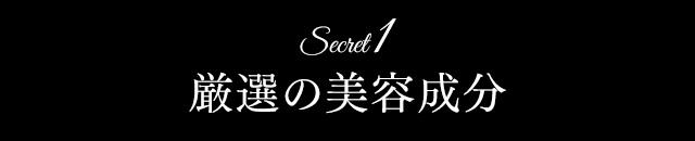 Secret1 厳選の美容成分